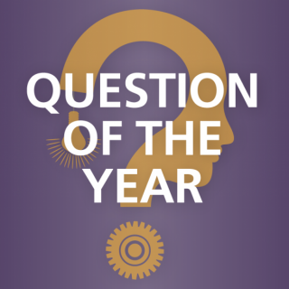 REMINDER: Responses to the 2014 Question of the Year Due May 1