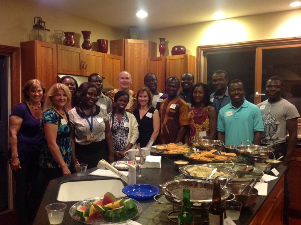 UMich-UCCSMS partnership dinner party
