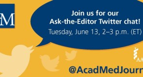 Save the Date: Ask-the-Editor Twitter Chat
